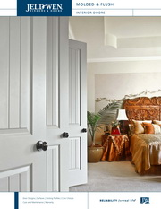 Jeld Wen Molded Flush Wood Composite Interior Doors Brochure