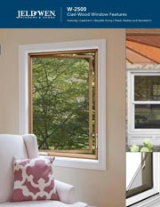 Jeld Wen W-2500 Wood Window Features Brochure