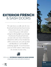 Simpson Exterior French Sash