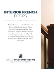 Simpson Interior French Doors