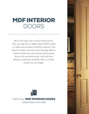 Simpson Mdf Interior Doors