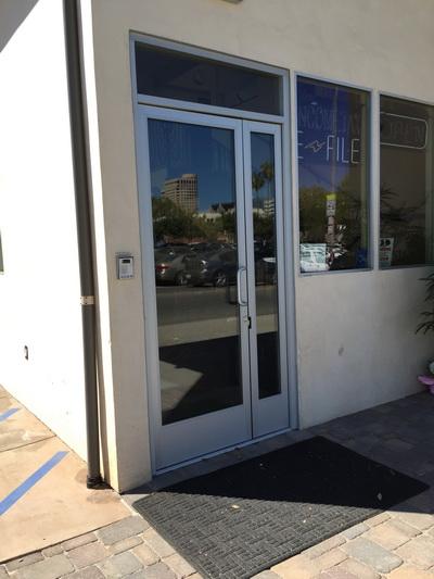 Storefront Doors get your amazing aluminum storefront doors sherman oaks